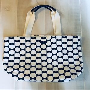 Kate Spade Canvas Bow Tote
